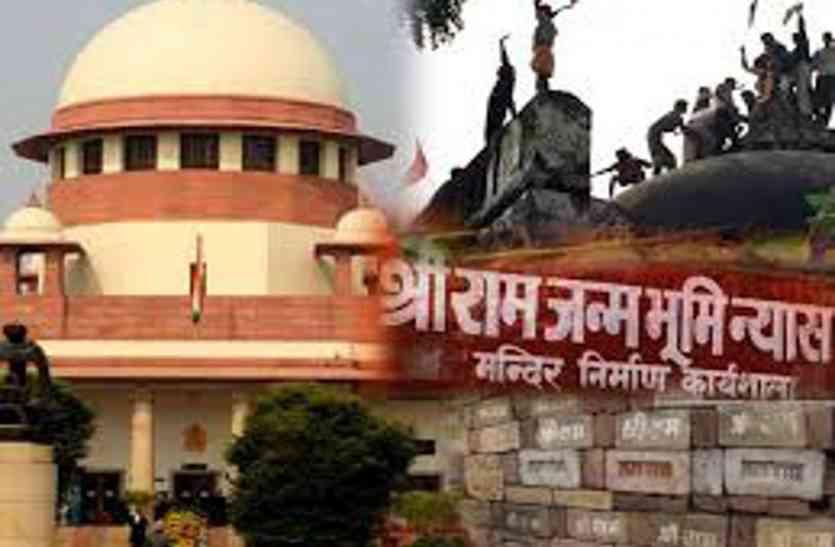 अयोध्या में संतो का बयान- जल्द हो फैसला नहीं तो संसद में पारित करेंगे प्रस्ताव