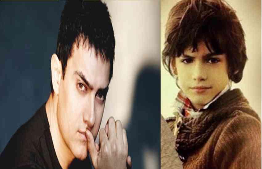 Aamir Khan and Jessica Hynes