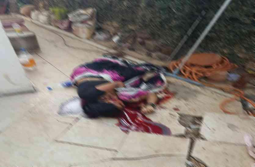 दर्दनाक: पॉश इलाके में नौकरानी की बेहरमी से हत्या, शक के दायरे में गार्ड फरार