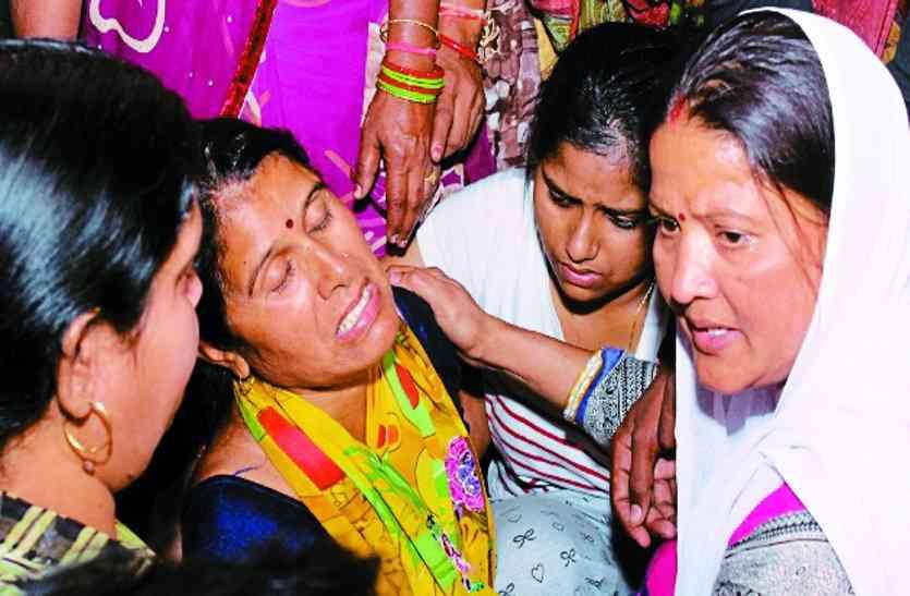बड़ी खबर : शहीद की पत्नी ने कहा हमें रोना नहीं है,हम दुश्मनों को मिटा देंगे