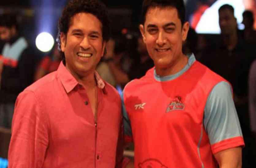सचिन ने अनोखे अंदाज में किया आमिर को बर्थडे विश