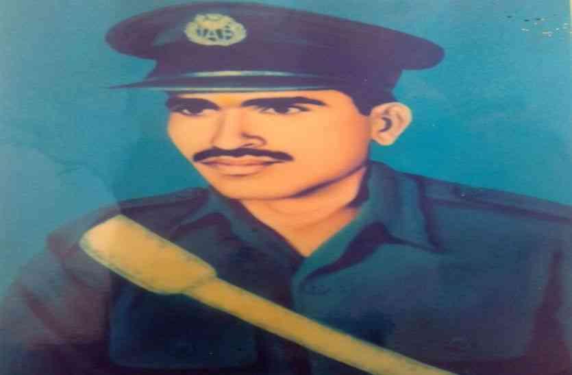 1965 के युद्ध में पाक के नापाक मसुंबो को ध्वस्त करने वाले पाली जिलें के प्रथम शहीद वायुसैनिक शंभुराम....