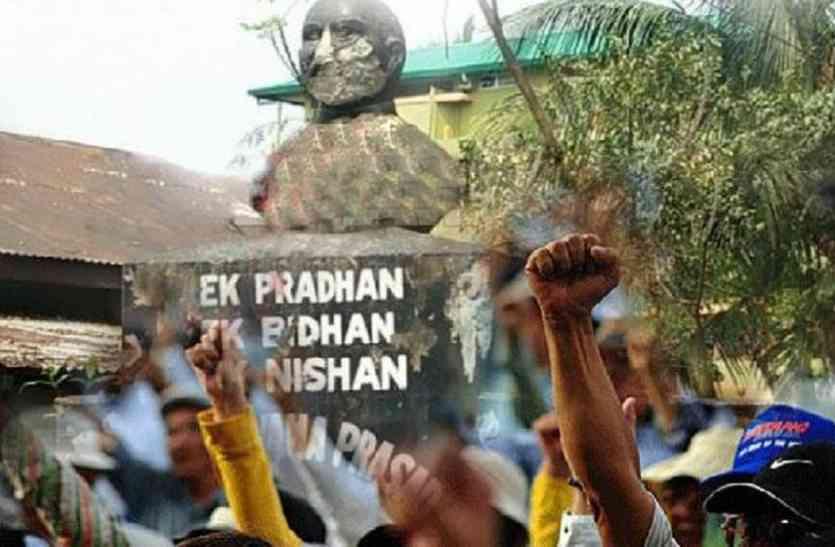 असम में तोड़ी गई श्यामा प्रसाद मुखर्जी की मूर्ति, त्रिपुरा से हुई थी शुरुआत
