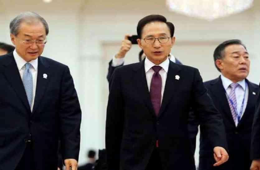 भ्रष्टाचार के मामले में दक्षिण कोरिया के पूर्व राष्ट्रपति  से पूछताछ, लाखों डॉलर घूस लेने  के आरोप