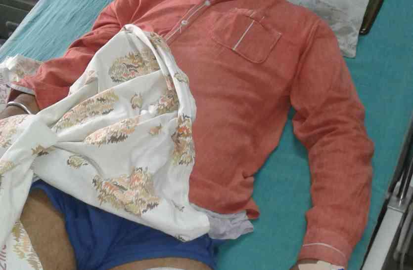 होटल संचालक को जांघ में गोली मार, डेढ़ लाख रुपए लूटे