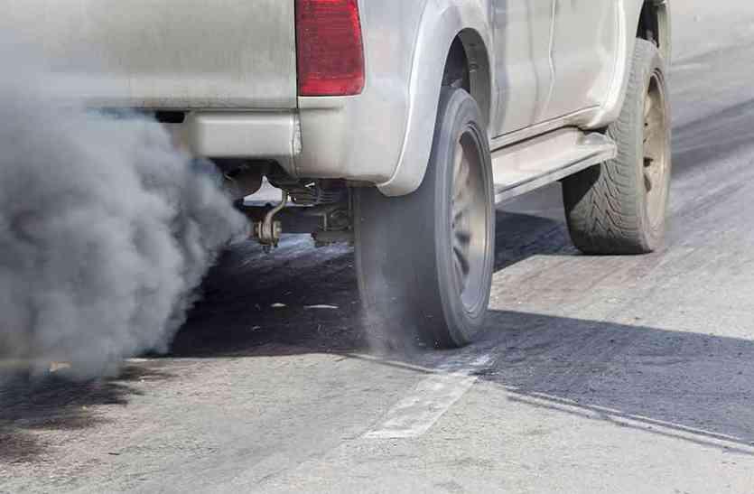 अब वाहनों के प्रदूषण की जांच होगी ऑनलाइन