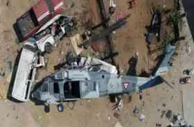 सेनेगल में सेना का हेलीकॉप्टर दुर्घटनाग्रस्त, 8 मरे 13 घायल