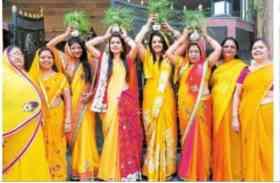 गणगौर को लेकर महिलाओं में दिख रहा उत्साह