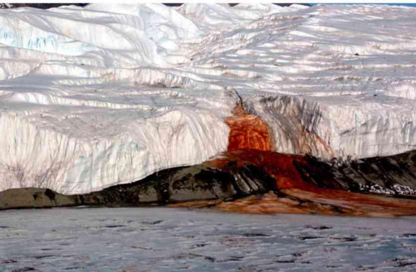 अंटार्कटिका के ग्लेशियर से निकलता है खूनी पानी, अब जाकर सुलझा रहस्य
