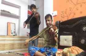 भंवर म्हानै खेलण द्यो गिणगौर...का ये वायलिन वर्जन सुन झूम उठेंगे आप, देखें वीडियो