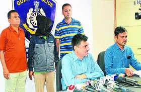 चोरी के माल के साथ सूत्रधार मोबिन समेत 8 नेपाल भागे