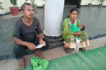 ममता हुई शर्मसार : रुपयों से इतना मोह कि डेढ़ माह के बेटे को जमीन पर पटक कर भाग गई मायके