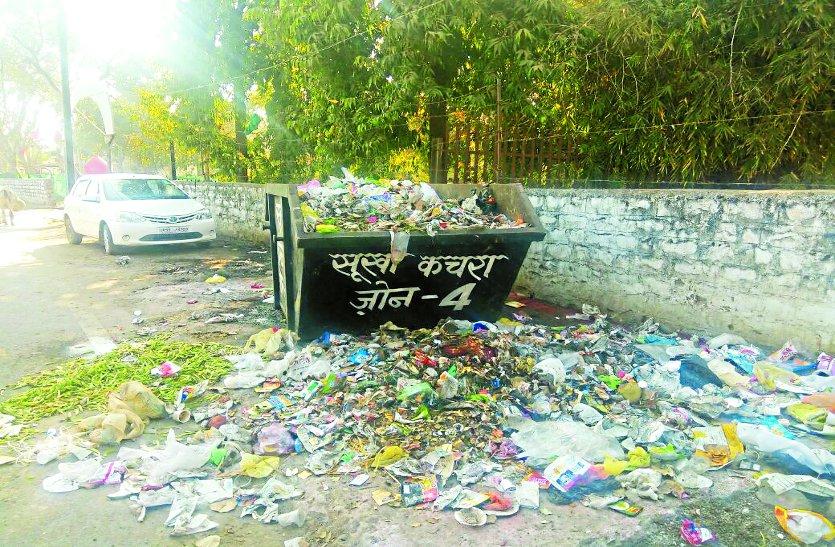 राजधानी की सफाई व्यवस्था ठप्प, हकीकत हैरान कर देने वाली