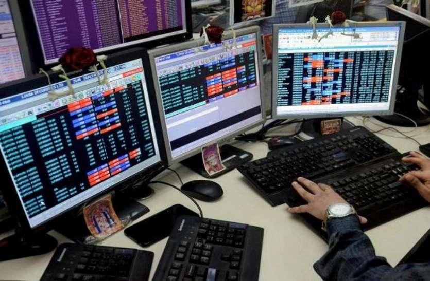 शेयर बाजार में भारी गिरावट, 410 टूटकर बंद हुआ सेंसेक्स, निफ्टी 10,000 के नीचे बरकरार