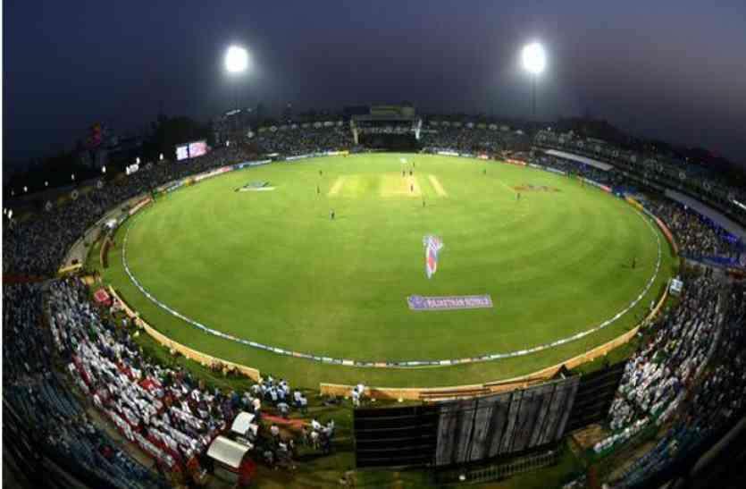 राजस्थान रॉयल्स का जयपुर में मैच कल, काउंटर पर खत्म हुई एक हजार रुपए से कम की टिकट