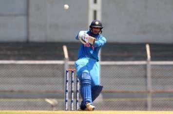 मंधाना की एक और तूफानी पारी, त्रिकोणीय सीरीज में भारत को मिली पहली जीत