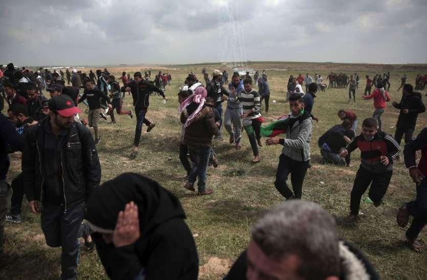 Image result for इजरायली सैनिकों की गोलीबारी में 7 फिलीस्तीनी नागरिकों की मौत