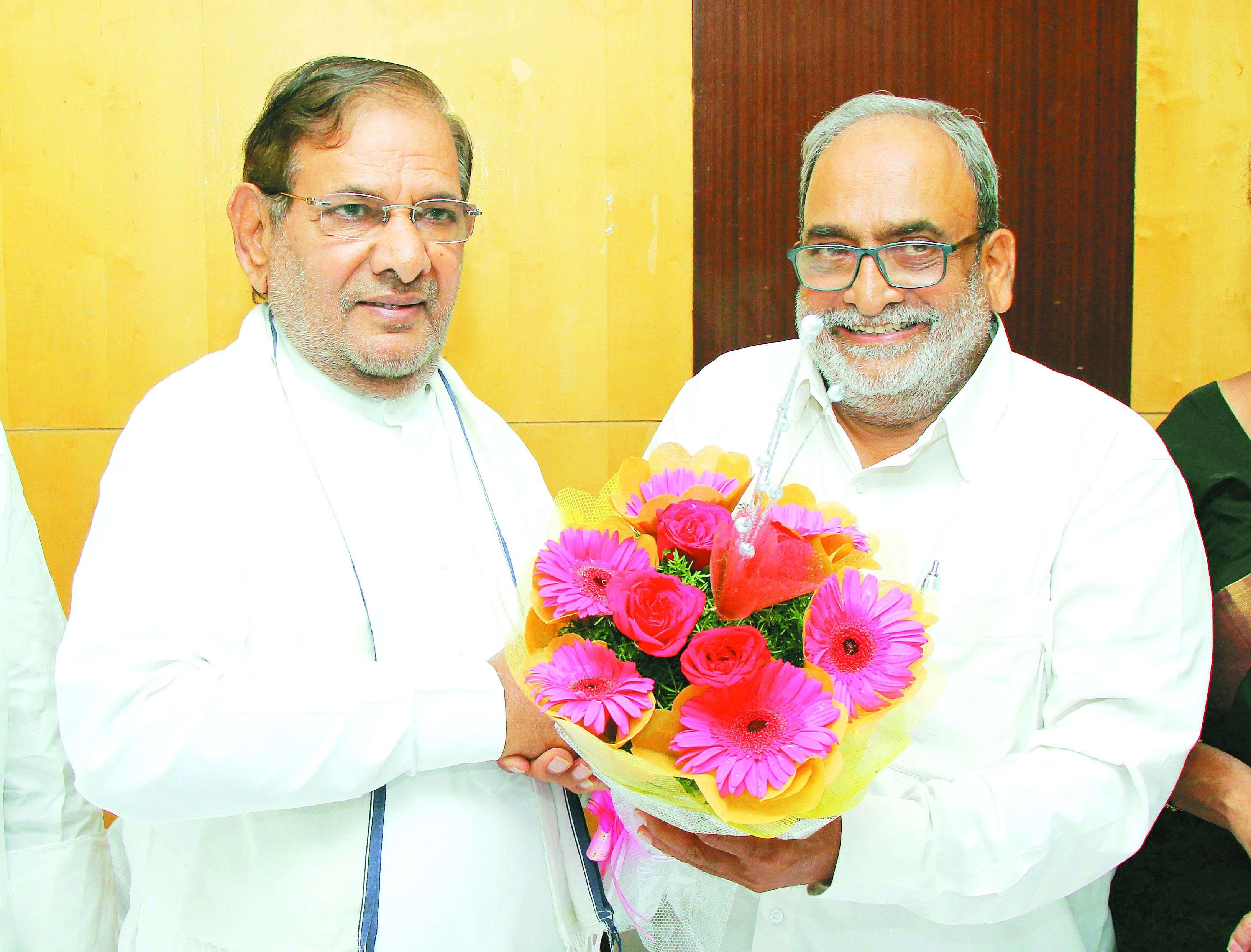Congress,JDU,Sharad Yadav,