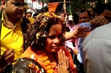 राम मंदिर निर्माण को लेकर साध्वी प्राची का सरकार पर करारा हमला, दी सख्त चेतावनी