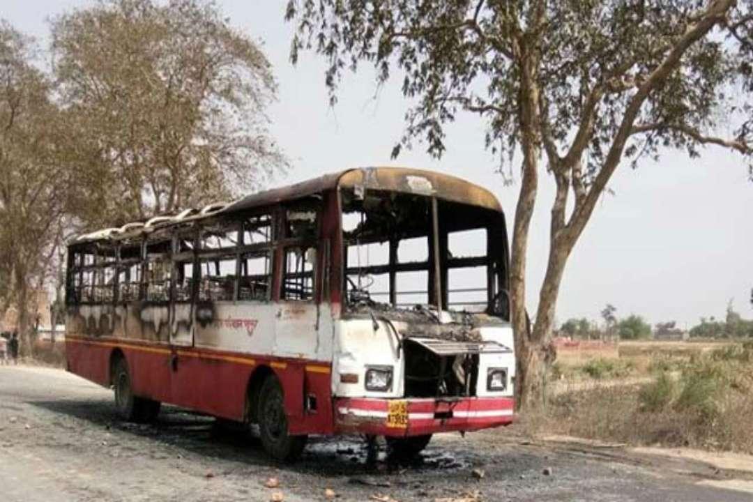 Violence during Bharat Bandh