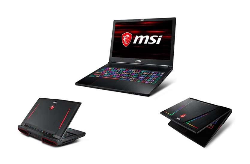 एमएसआई ने उतारे नए इंटेल प्रोसेसर वाले गेमिंग लैपटॉप
