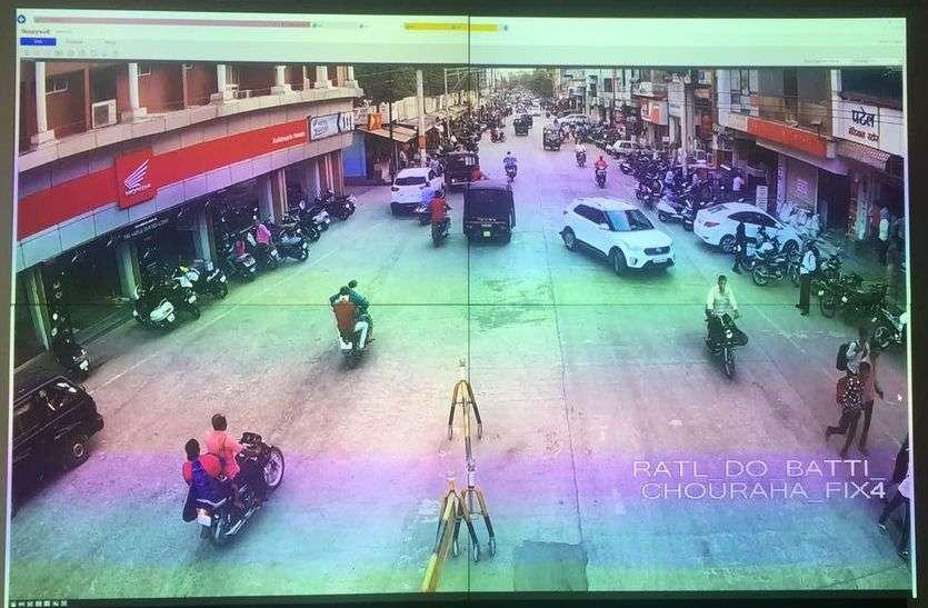 पुलिस के सीसीटीवी कैमरों की ट्रायल शुरू