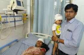 अलवर में चेन स्नेचरों का ऐसा आतंक, चेन नहीं तोड़ सके तो महिला को मारा धक्का, बच्ची को भी आई चोट