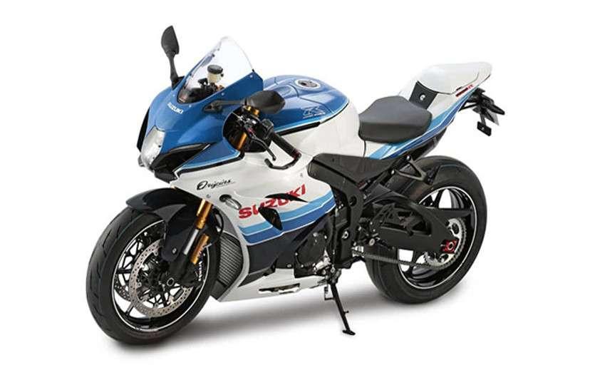सुजुकी ने GSX-R1000 स्पोर्ट्सबाइक के Origins edition को लॉन्च किया