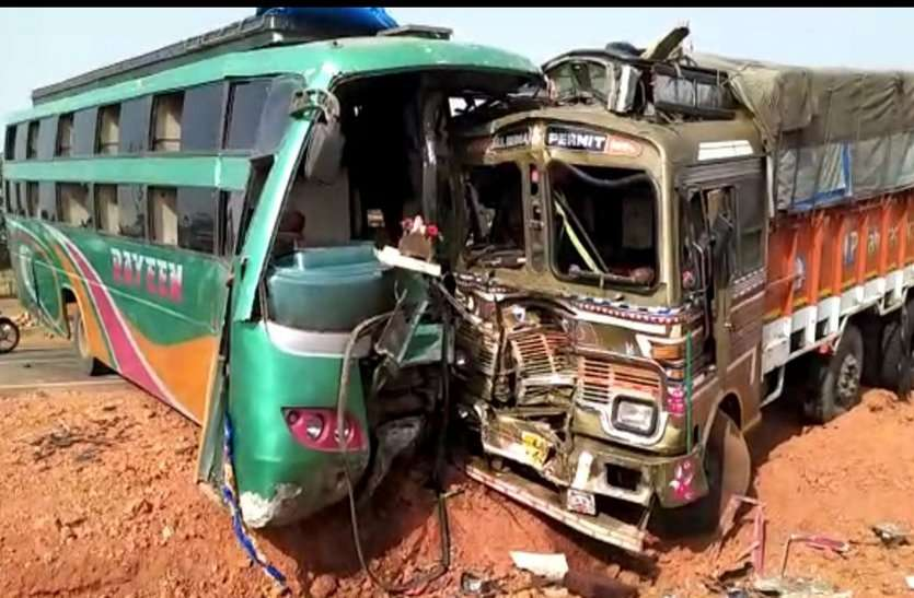Image result for bus and truck accident image