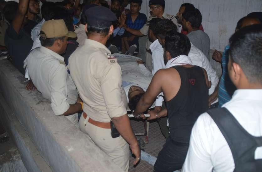 नितिन हत्याकांड : मुंह बांधकर सरेंडर करने पहुंचा आरोपी, एसपी ने दबोचा