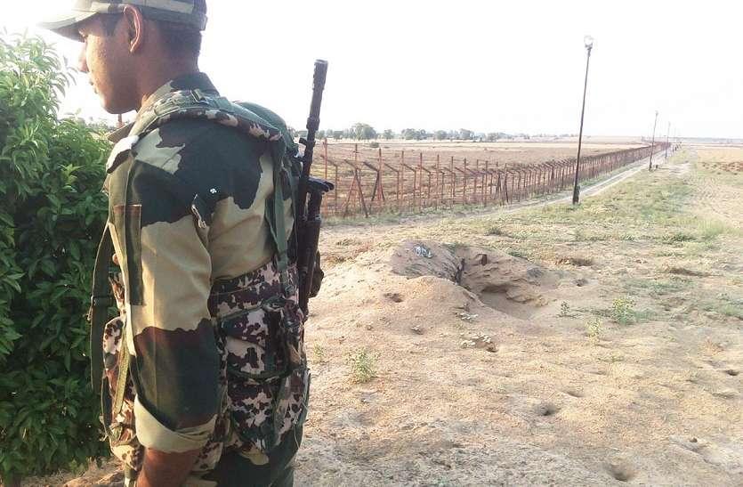 भारतीय सीमा क्षेत्र में मिला पाक सिम वाला मोबाइल!