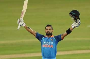 कोहली ने की सहवाग की बराबरी, लगातार दूसरे साल बने विजडन लीडिंग क्रिकेटर ऑफ द ईयर