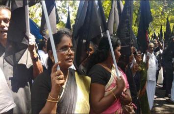 कावेरी जल विवाद: एमडीएमके कार्यकर्ताओं ने पीएम मोदी को दिखाए काले झंडे