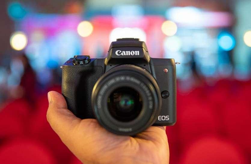 कैनन इंडिया ने उतारा नया मिररलेस EOS M50 कैमरा, कीमत 61,995 रुपए