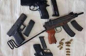 प्रदेश में बढ़ रही हथियार तस्करी, आठ पिस्टल के साथ कोटा में एक को दबोचा