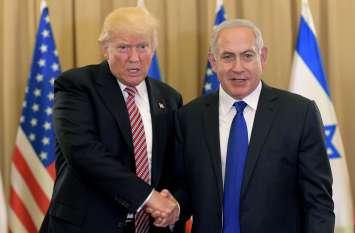 सीरिया पर हवाई हमले पर दो धड़ों में बंटा विश्व, अमरीका के पक्ष में उतरा इजराइल