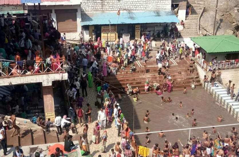 सोमवती अमावस्या पर जटाशंकर और खजुराहो में पहुंचे हजारों श्रद्धालु