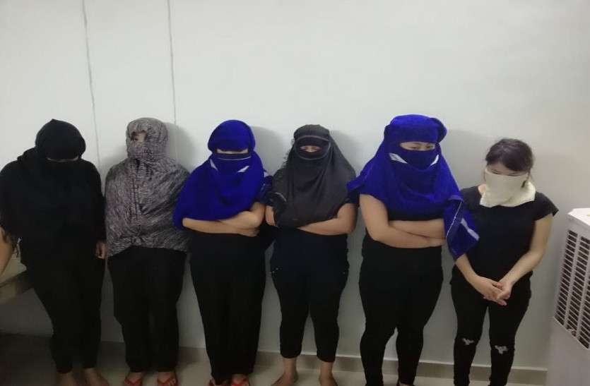 High Profile prostitution racket busted in Raipur