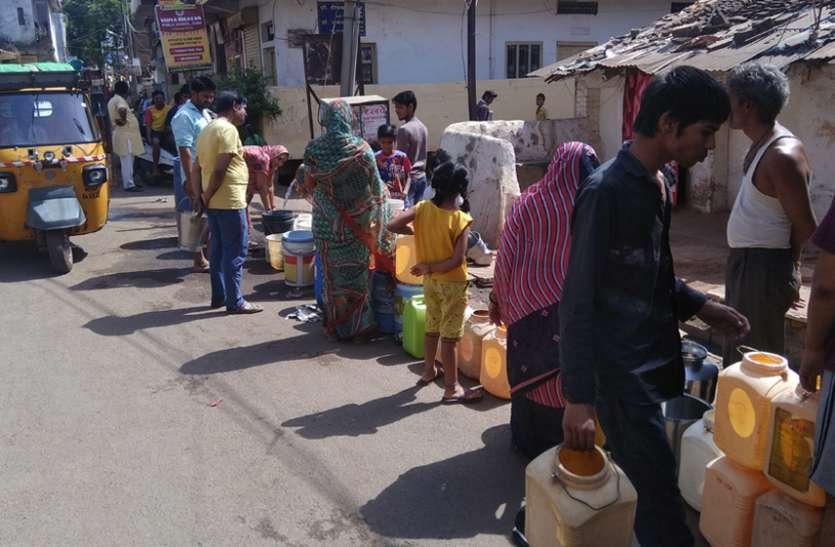 जनता बोली- पानी नसीब नहीं तो हम क्यों दें 16० रुपया, ग्रामीण क्षेत्रों में भी किल्लत