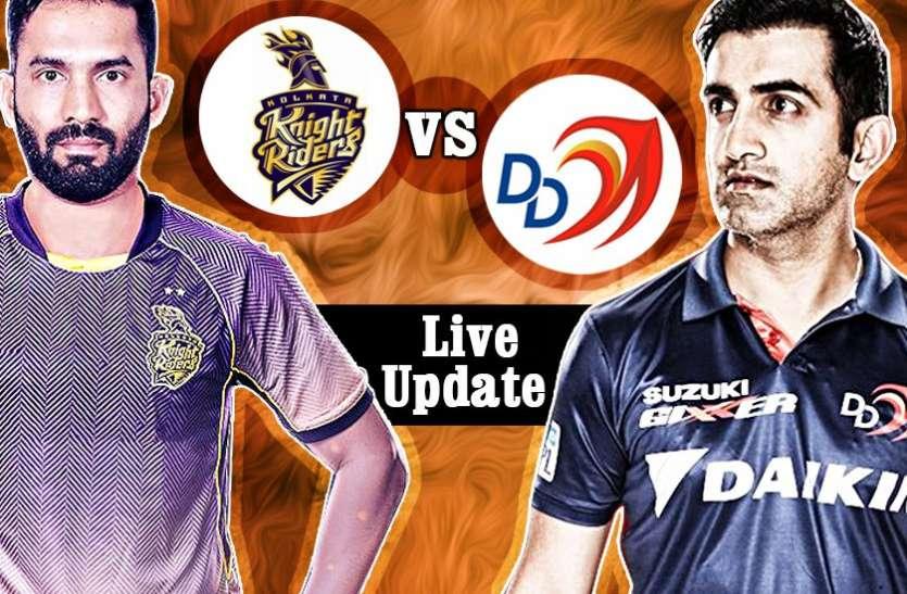KKRvDD: कोलकाता ने दिल्ली को 71 रनों से हराया, फीकी रही दिल्ली की बल्लेबाजी