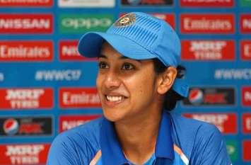 ICC Ranking : लंबी छलांग लगाकर चौथे नंबर की वनडे बल्लेबाज बनीं मंधाना