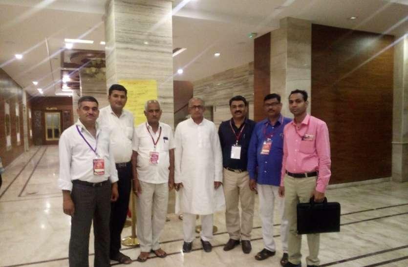 अधिवेशन में शामिल हुए पूरे भारत से सरकारी कर्मचारी