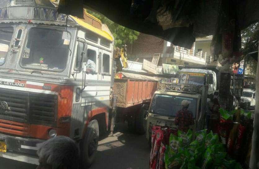भीनमाल: यहां कागजों में ही यातायात पुलिस दे रही ड्यूटी