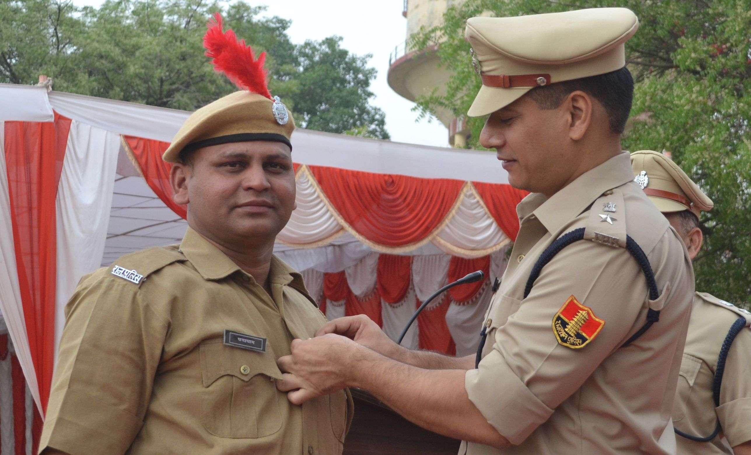 POLICE DAY CELEBRATION IN ALWAR