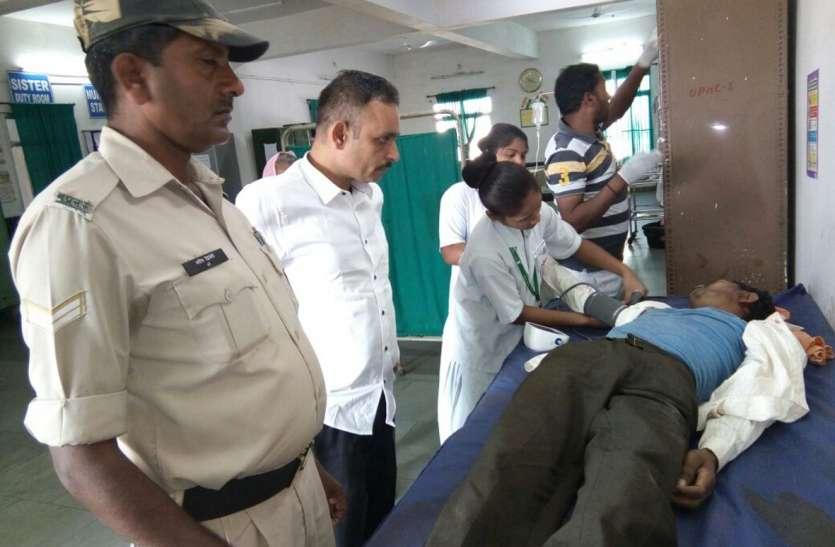 एसडीएम शहपुरा ने दिखाई मानवीयता, घायलों को पहुंचाया अस्पताल