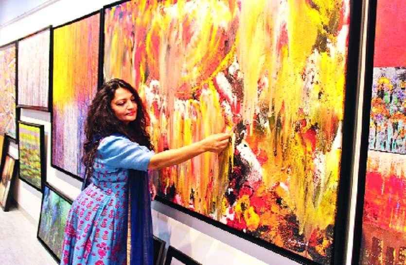 ममता अग्रवाल की पेंटिंग्स का पूर्वावलोकन, एग्जीबिशन २१ अप्रैल से