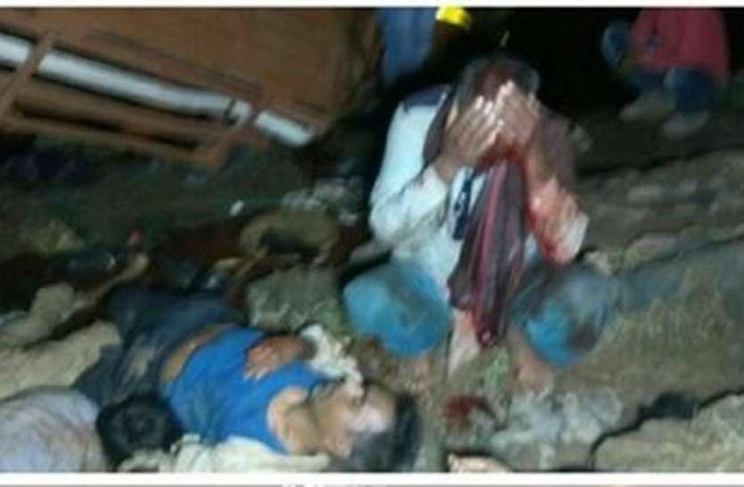 सीधी जिले में बस सोन नदी में गिरी, 20 की मौत, 30 से ज्यादा घायल