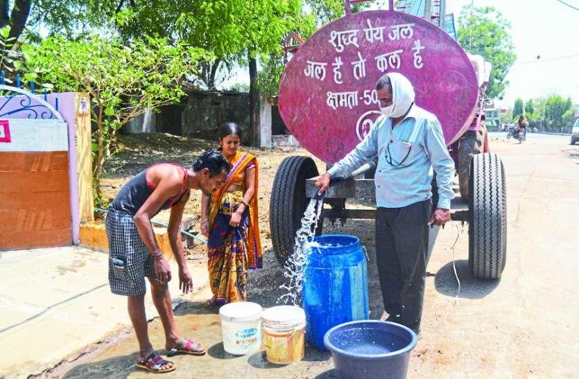 ये प्यास है बड़ी:  नौ साल, 78 करोड़ खर्च, फिर भी घर-घर पानी नहीं पहुंचा पाई नपा