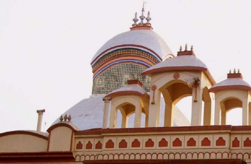 250 किलो चांदी से सजा कालीघाट मंदिर