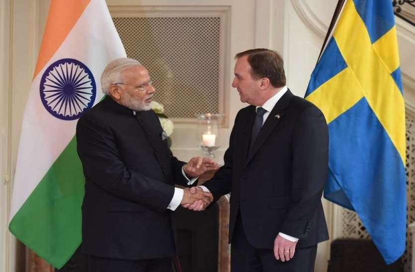 भारत के साथ मेड इन इंडिया कैंपेन में स्वीडन सबसे मजबूत सहयोगी: नरेंद्र मोदी